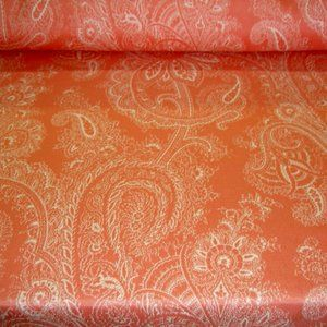Erie Island Accents - Outdoor SB109 Paisley 09F Coral Fabric